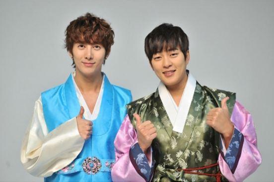 Park Kwang Hyun and Kim Hyung Jun