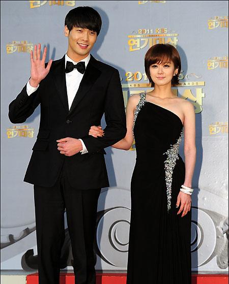 Daniel Choi and Jang Na Ra