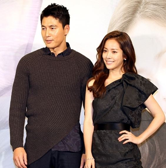 Han Ji Min and Jung Woo Sung