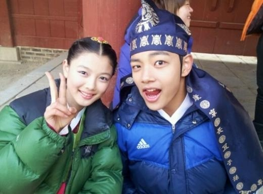 Kim Young Jung and Yeo Jin Goo