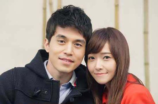 Lee Dong Wook and Jessica