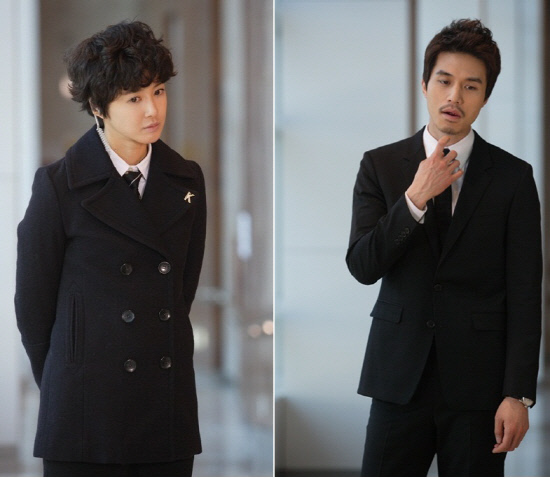 Tomboy Lee Si Young and Handsome Lee Dong Wook