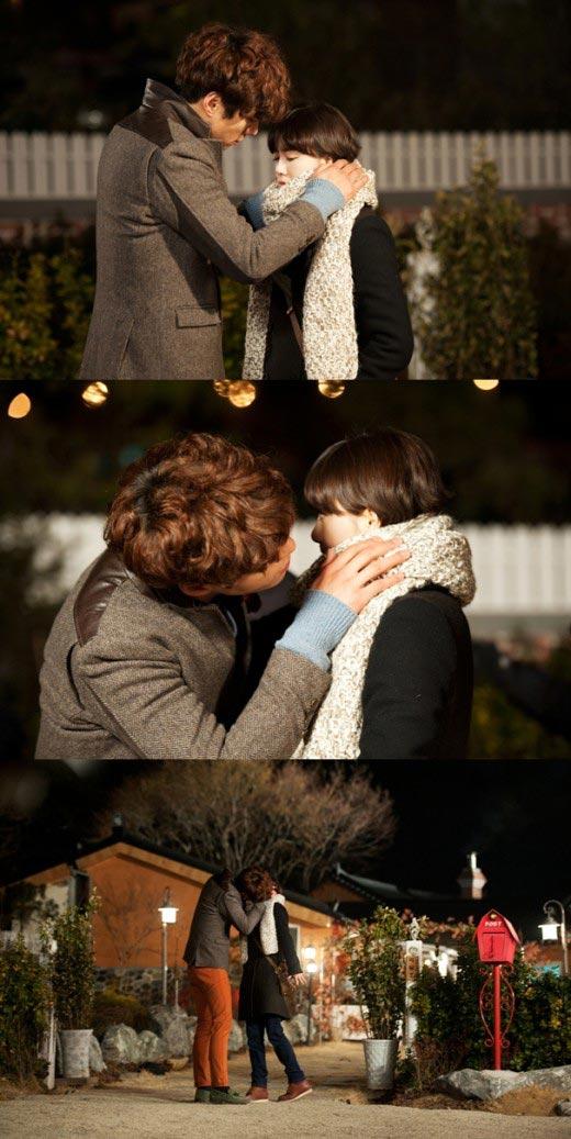 Ku Hye Sun and Lee Chun Hee