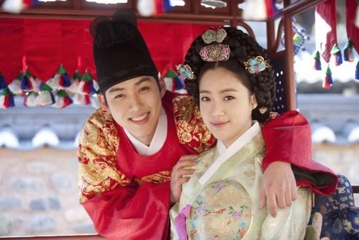 Baek Sung Hyun and Ham Eunjung