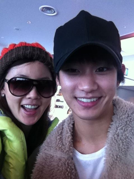 Ahn Sun Young and Kim Soo Hyun