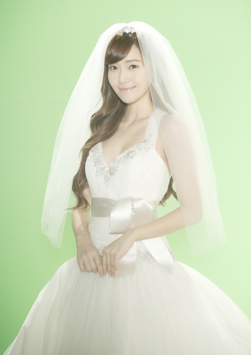 Jessica Jung in Wedding Dress