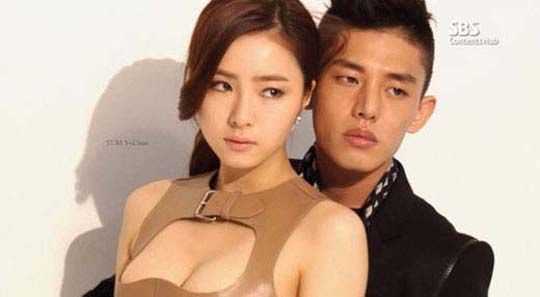 Shin Se Kyung and Yoo Ah In