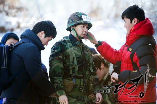 The King 2hearts Behind the Scene