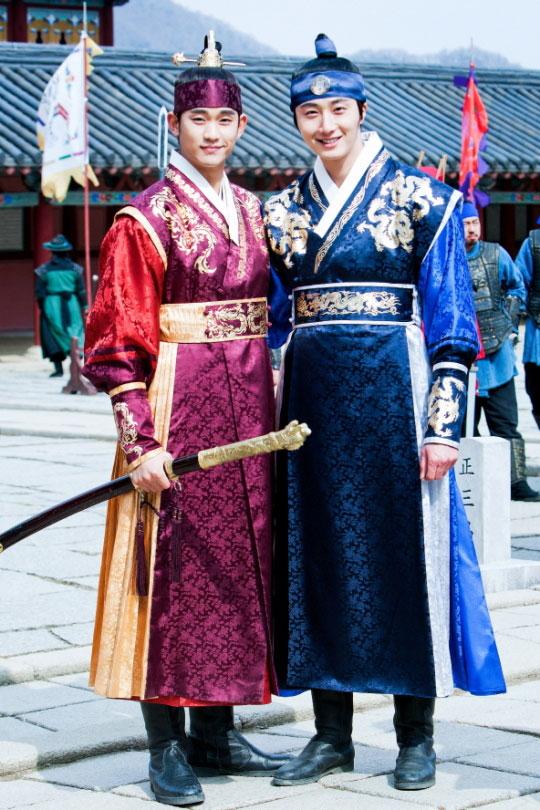 Jung Il Woo & Kim Soo Hyun